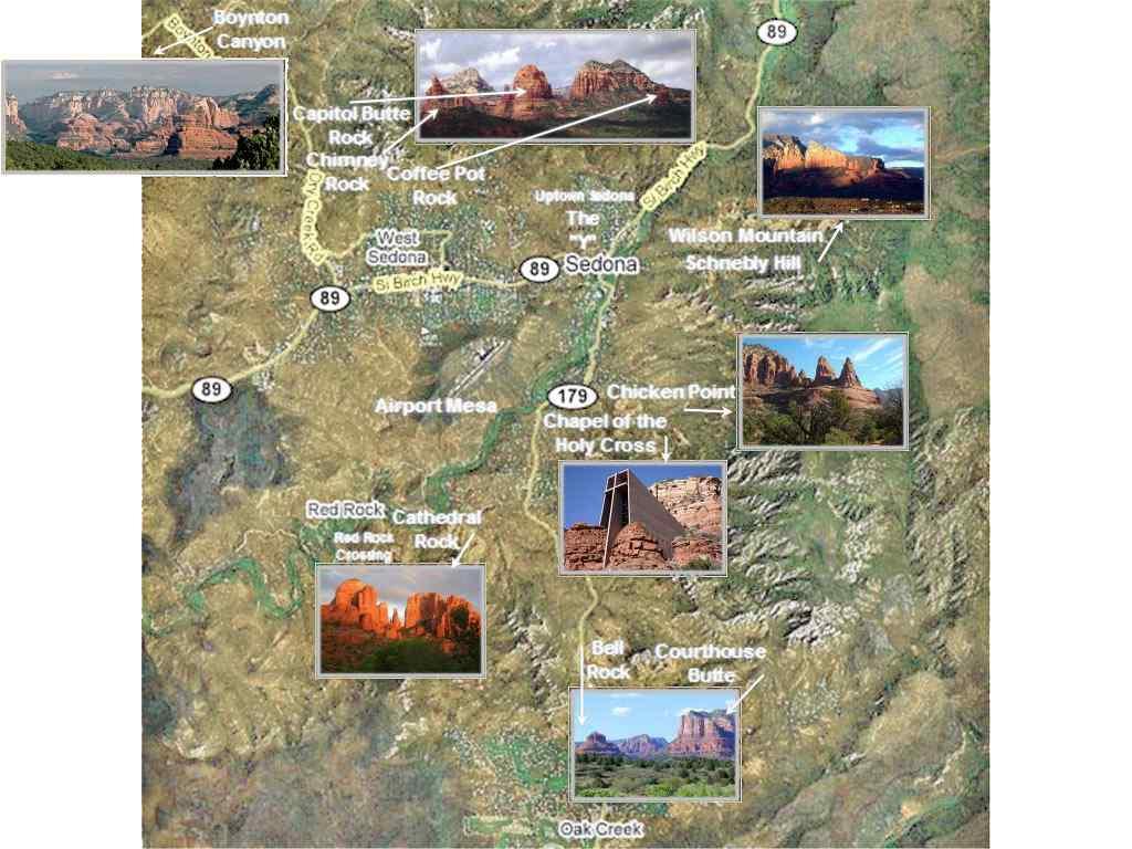 Sedona Maps Sedona Location In Arizona Maps Of Verde Valley