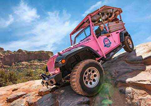 Pink Jeep Sedona's Most Popular Tour
